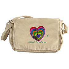 Critical Care Nurse Messenger Bag