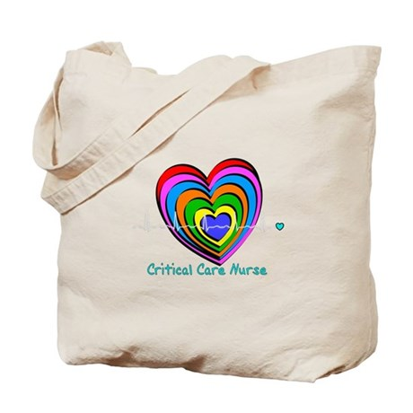 Critical Care Nurse Tote Bag