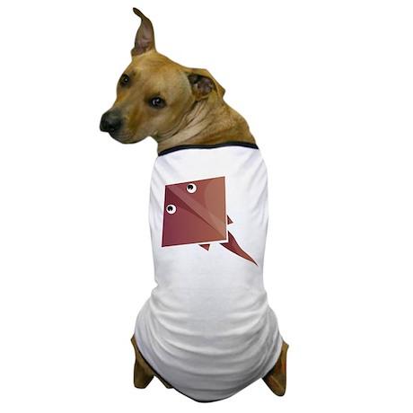 Origami Fish Dog T-Shirt