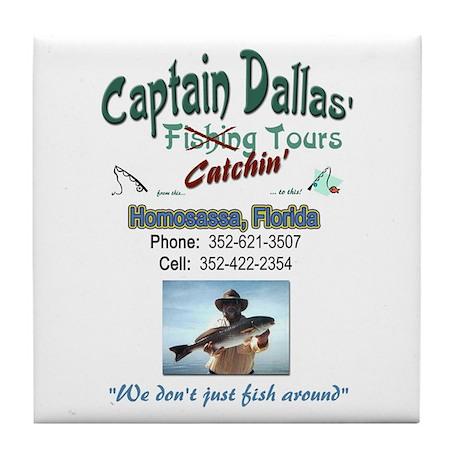 Capt. Dallas Tile Coaster