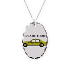 Cabs are here! Necklace Oval Charm