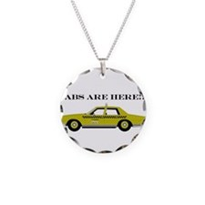 Cabs are here! Necklace Circle Charm