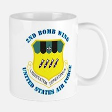 2nd Bomb Wing with Text Mug