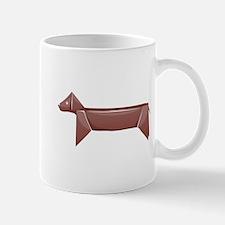 Origami Dog Mug