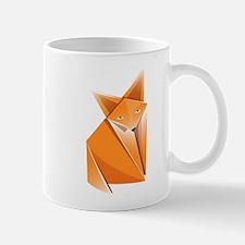 Origami Fox Mug