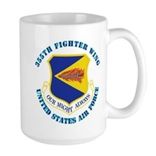 355th Fighter Wing with Text Mug