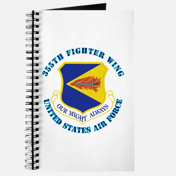355th Fighter Wing with Text Journal