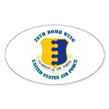 28th Bomb Wing with Text Decal