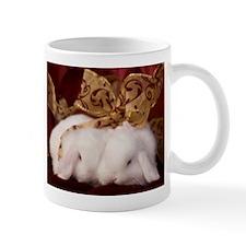 Christmas Bow Bunnies Mug