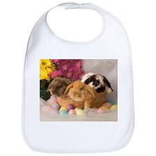 Easter Bunnies Bib