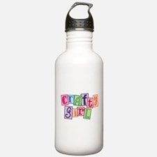 Crafty Girl Water Bottle