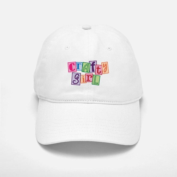 Crafty Girl Baseball Baseball Cap