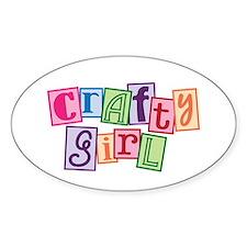Crafty Girl Decal