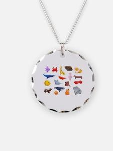 Origami Animals Necklace