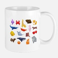 Origami Animals Mug