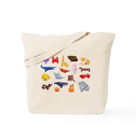 Origami Animals Tote Bag