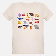 Origami Animals T-Shirt