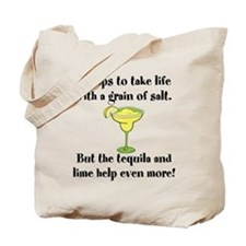 Grain Of Salt Tote Bag