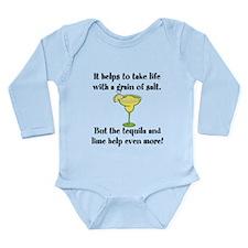 Grain Of Salt Long Sleeve Infant Bodysuit