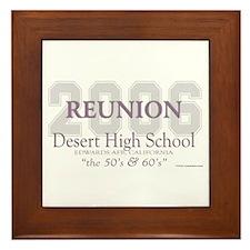 Reunion 2006 DHS Framed Tile