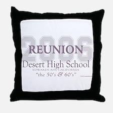 Reunion 2006 DHS Throw Pillow