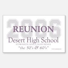 Reunion 2006 DHS Rectangle Decal