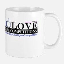 I Love Figure Competitions Mug