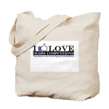 I Love Figure Competitions Tote Bag