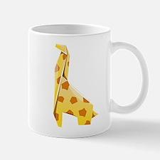 Origami Giraffe Mug