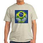 Futebol Brasileiro Ash Grey T-Shirt