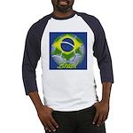 Futebol Brasileiro Baseball Jersey