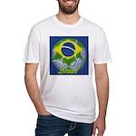 Futebol Brasileiro Fitted T-Shirt