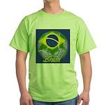 Futebol Brasileiro Green T-Shirt