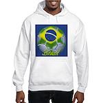 Futebol Brasileiro Hooded Sweatshirt