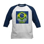 Futebol Brasileiro Kids Baseball Jersey