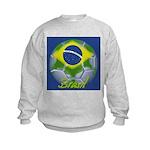 Futebol Brasileiro Kids Sweatshirt