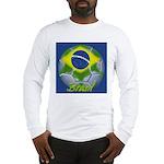 Futebol Brasileiro Long Sleeve T-Shirt