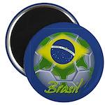 """Futebol Brasileiro 2.25"""" Magnet (10 pack)"""