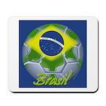 Futebol Brasileiro Mousepad