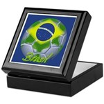Futebol Brasileiro Keepsake Box