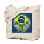 Futebol Brasileiro Tote Bag