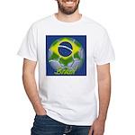 Futebol Brasileiro White T-Shirt