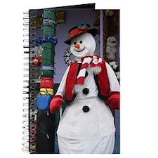 Christmas Frosty Snowman Journal