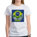Futebol Brasileiro Women's T-Shirt