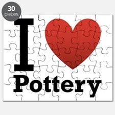 I Love Pottery Puzzle