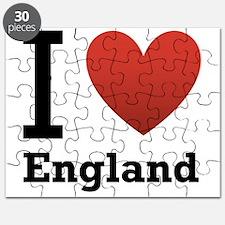 I Love England Puzzle