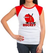 Rednexk Hockey Women's Cap Sleeve T-Shirt