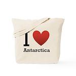 I Love Antarctica Tote Bag