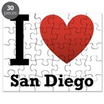 I Love San Diego Puzzle