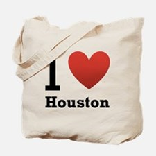 I Love Houston Tote Bag